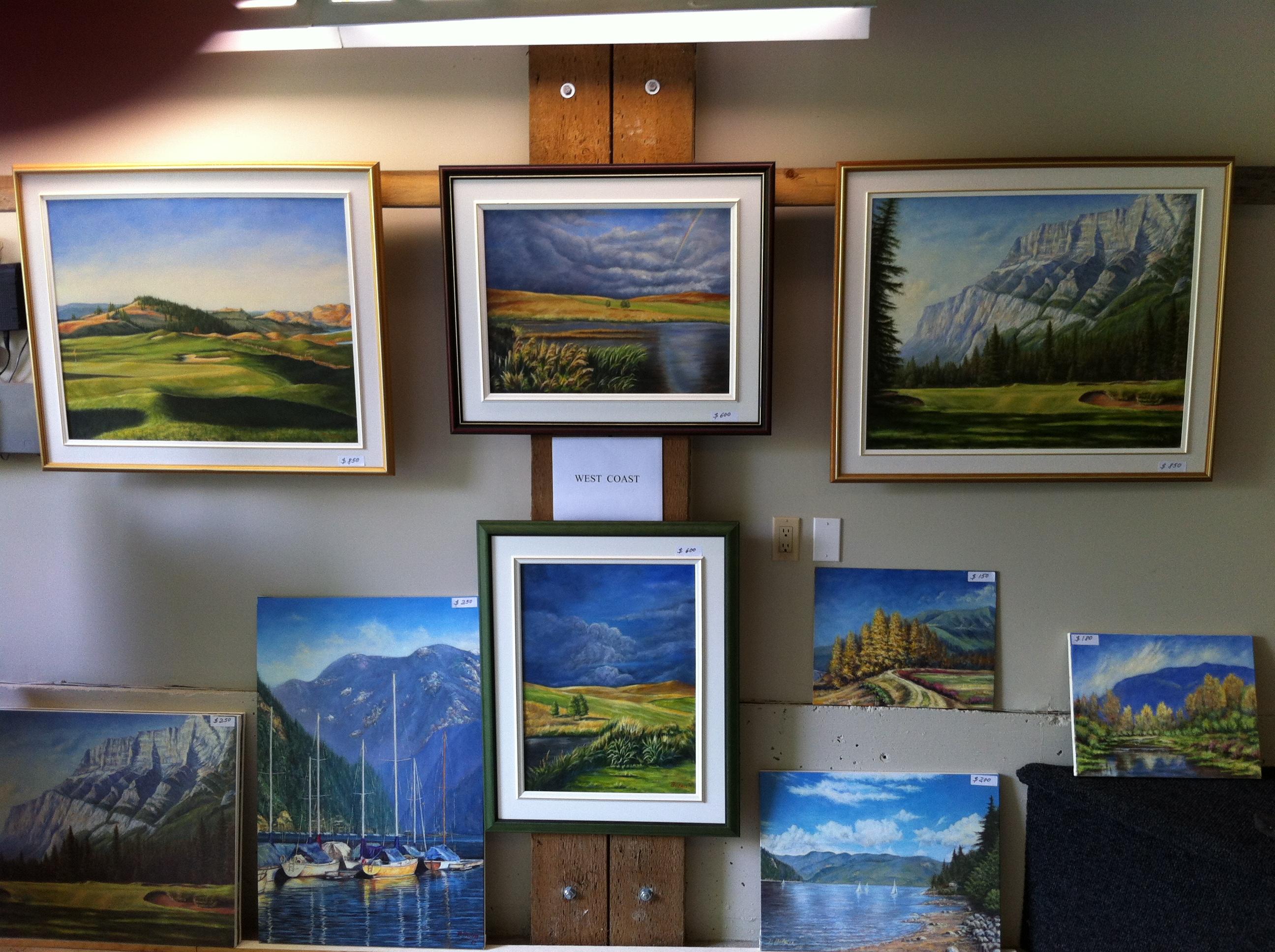 Paul Buten Art Show